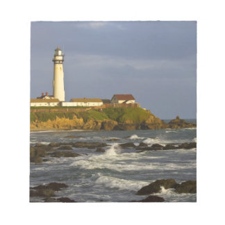 Lighthouse at Pigeon Point State Beach in San 2 Notepad