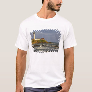 Lighthouse at Pigeon Point State Beach in San 2 T-Shirt