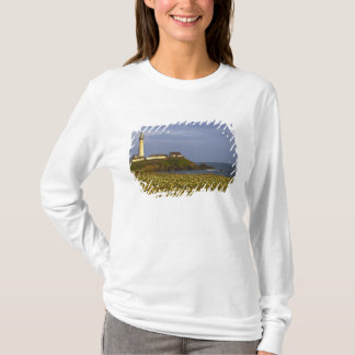 Lighthouse at Pigeon Point State Beach in San T-Shirt
