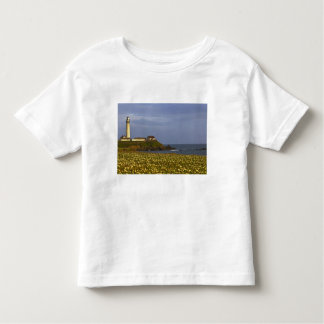 Lighthouse at Pigeon Point State Beach in San Toddler T-shirt