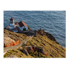 Lighthouse At Point Reyes National Seashore Postcard at Zazzle
