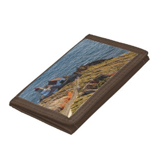 Lighthouse At Point Reyes National Seashore Tri-fold Wallet