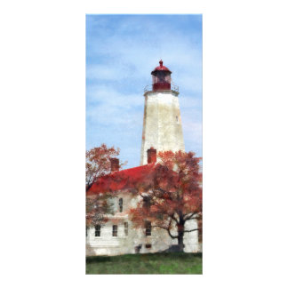 Lighthouse at Sandy Hook Rack Card