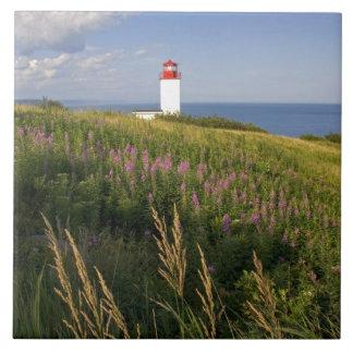 Lighthouse at St. Martins, New Brunswick, 2 Large Square Tile
