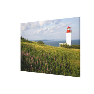 Lighthouse at St. Martins, New Brunswick, Gallery Wrap Canvas