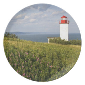 Lighthouse at St. Martins, New Brunswick, Dinner Plate