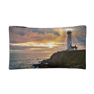 Lighthouse at Sunset Cosmetic Bag