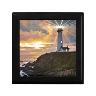 Lighthouse at Sunset Gift Box