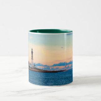 Lighthouse at Sunset Mug