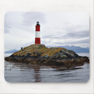 Lighthouse at the end of the world mouse pad