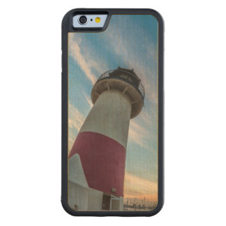 Lighthouse at the Oceanside Harbor Carved® Maple iPhone 6 Bumper Case