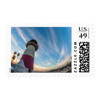 Lighthouse at the Oceanside Harbor Postage