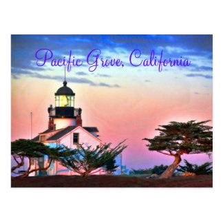 Lighthouse at Twilight Postcard