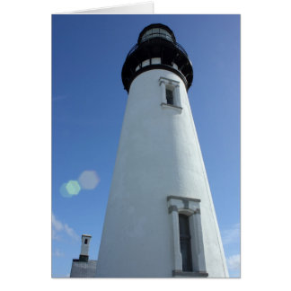 Lighthouse at Yaquina Head Card