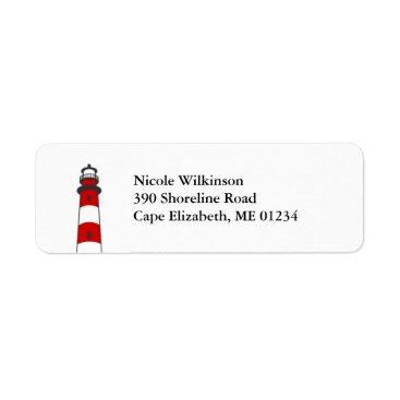 marlenedesigner Lighthouse Avery Label