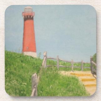 Lighthouse - Barnegat Bay Drink Coaster