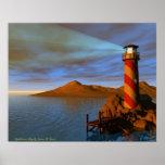 Lighthouse Bay Print