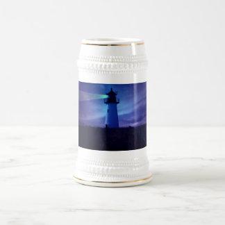 Lighthouse Beacon Beer Steins 18 Oz Beer Stein