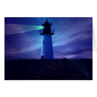 Lighthouse Beacon Greeting Cards