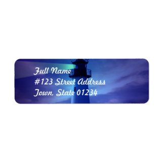 Lighthouse Beacon Mailing Label