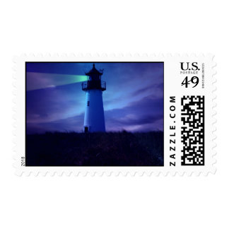 Lighthouse Beacon Postage Stamp