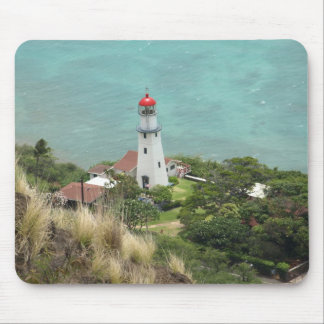 Lighthouse Below on the Ocean Mousepad
