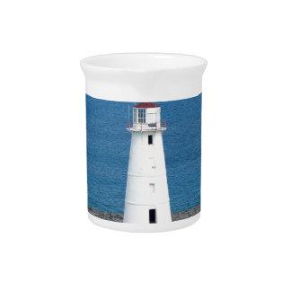 Lighthouse Beverage Pitcher