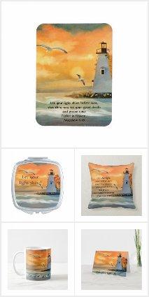 Lighthouse / Bible Verse Gift Ideas
