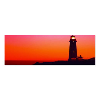 LIGHTHOUSE BOOKMARK BUSINESS CARD TEMPLATE