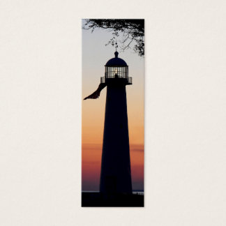 Lighthouse Bookmark Mini Business Card