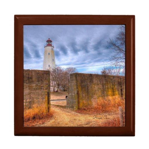 Lighthouse Box Keepsake Boxes