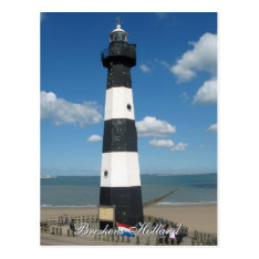 Lighthouse Breskens Holland Postcard at Zazzle