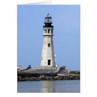 Lighthouse - Buffalo, New York Card