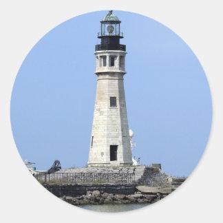 Lighthouse - Buffalo, New York Classic Round Sticker