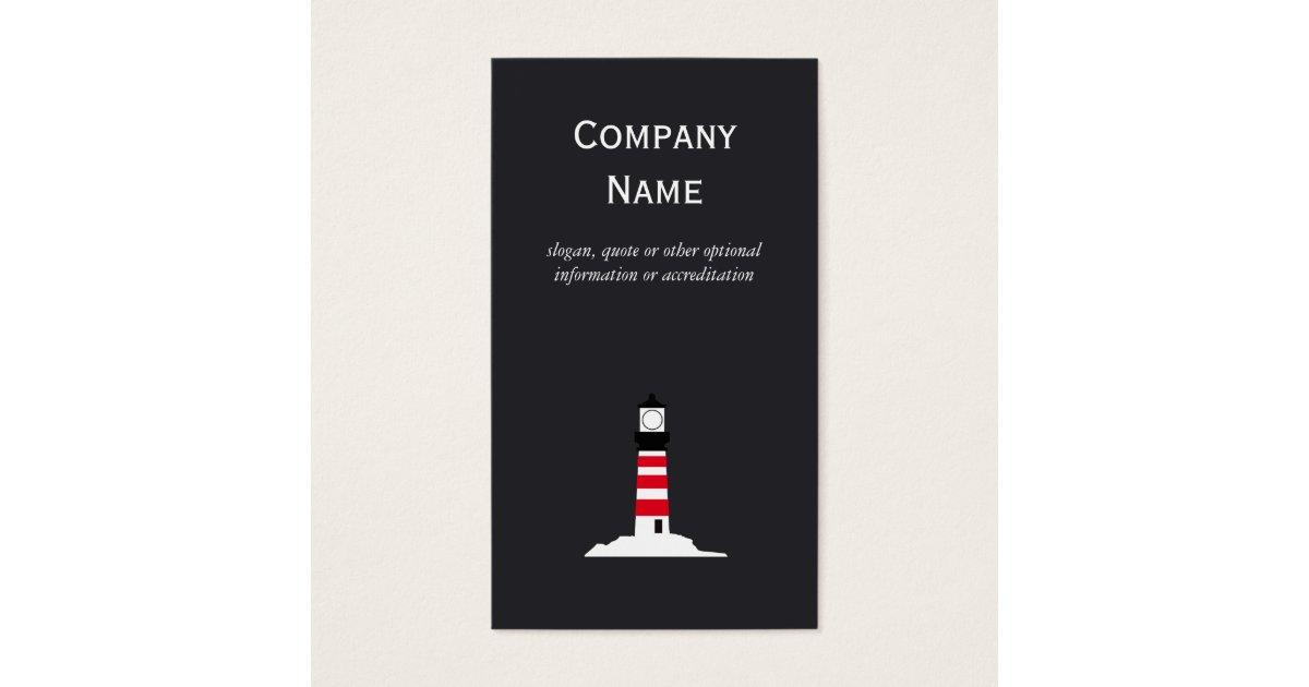Lighthouse Business Card | Zazzle.com