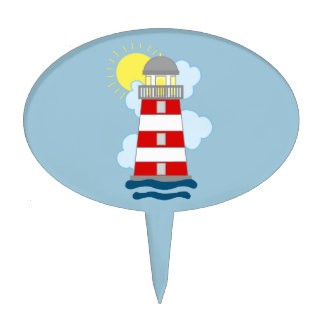 Lighthouse Cake Pick