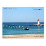 Lighthouse, Cap Ferrat, France,... Post Card