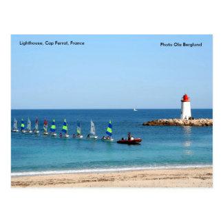Lighthouse, Cap Ferrat, France,... Postcard