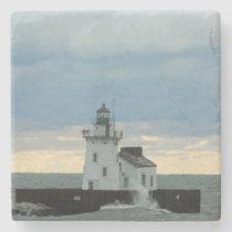 Lighthouse (Cleveland, OH) Stone Coaster