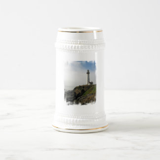 Lighthouse Cliff  Beer Stein Coffee Mugs