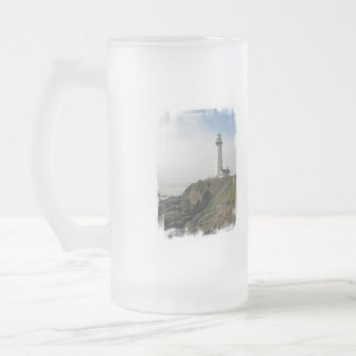 Lighthouse Cliff  Frosted Mug