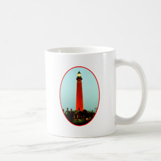 Lighthouse Daytona o Red The MUSEUM Zazzle Gifts Classic White Coffee Mug