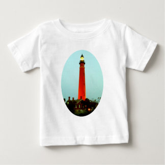 Lighthouse Daytona o The MUSEUM Zazzle Gifts Baby T-Shirt