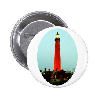 Lighthouse Daytona o The MUSEUM Zazzle Gifts Pinback Button