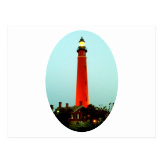 Lighthouse Daytona o The MUSEUM Zazzle Gifts Postcard