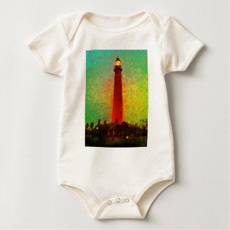 Lighthouse Daytona Sunrise The MUSEUM Zazzle Gifts Baby Bodysuit