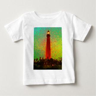 Lighthouse Daytona Sunrise The MUSEUM Zazzle Gifts Baby T-Shirt