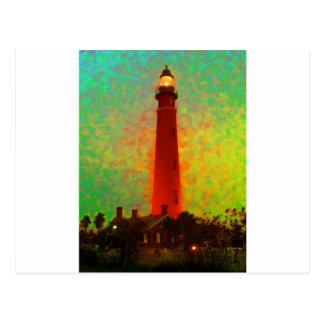 Lighthouse Daytona Sunrise The MUSEUM Zazzle Gifts Postcard