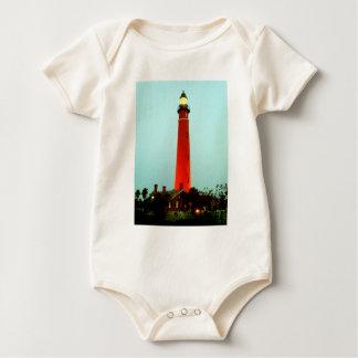 Lighthouse Daytona The MUSEUM Zazzle Gifts Baby Bodysuit