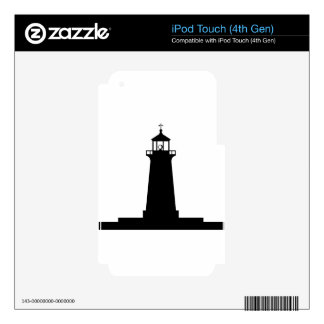lighthouse decals for iPod touch 4G